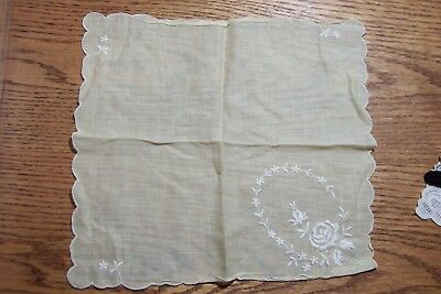 Vintage Lot Ladies Handkerchiefs and Gloves Lace & Embroidery