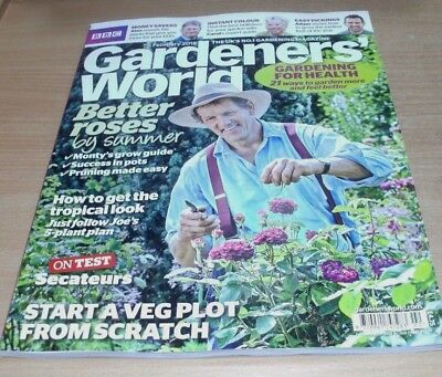 BBC Gardeners' World magazine FEB 2018 Better Roses, Tropical Look, Secateurs &