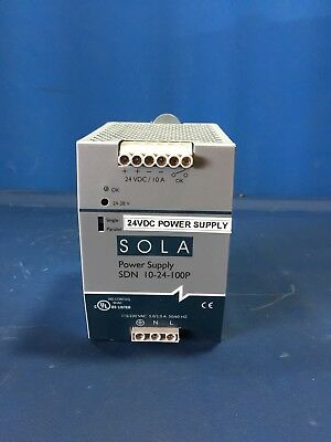 Sola Sdn-10-24-100P Power Supply