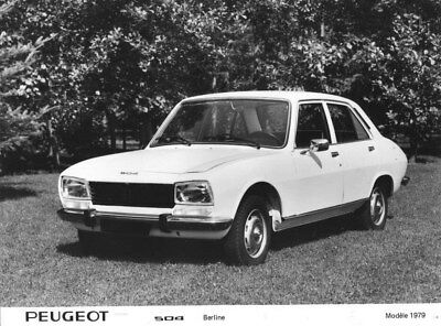 1979 Peugeot 504 Sedan ORIGINAL Factory Photo oua1795