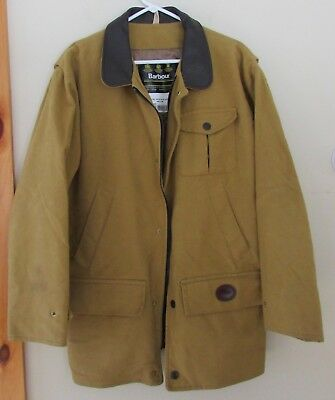 Barbour Mens Mole Skin Jacket M Made in England