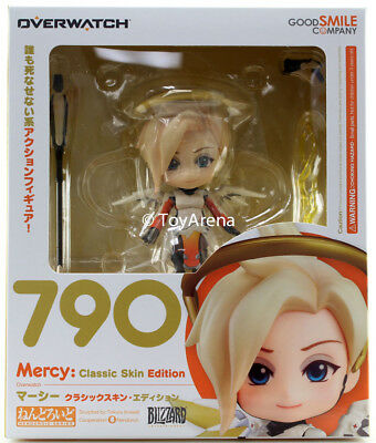 Nendoroid #790 Mercy Classic Skin Edition Overwatch Authentic IN STOCK USA GSC