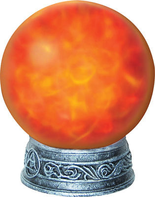 WITCH'S MAGIC LIGHT Orb Crystal Ball Animated Lights
