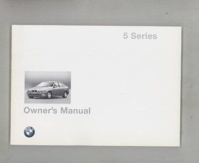 1998 BMW US 528 528i 540 540i MINT ORIGINAL Owner's Manual wy9982