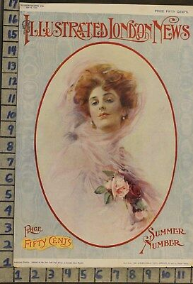 1909 ART ROMANCE COVER MEDICAL QUACK DOCTOR ENO's FRUIT SALT MEDICINE AD RK08