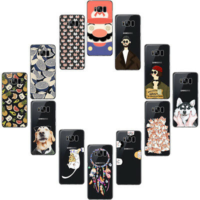 Ultra Thin TPU Silicone Soft Case Cover For Samsung Galaxy S8 Plus A3 J5 2017