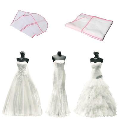 Large Breathable Garment Storage Bags For Bridal Gown Wedding Dress Dust Cover