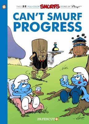 Smurfs #23 Can't Smurf Progress by Peyo 9781629917375 (Paperback, 2017)