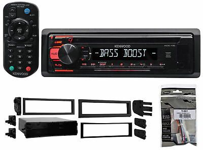 Kenwood In-Dash CD Player Receiver MP3/Aux+Remote For 2000-2004 Subaru Outback