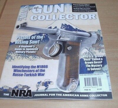 Gun & Sword Collector magazine FEB 2018 Japanese Military Pistols, M1866 Winches
