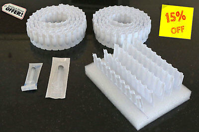 200 Empty Disposable Suppository / Suppositories / Moulds / Mold 2ml medium