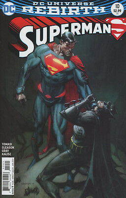 Superman (2016) #10 11 Variant 1St Print Vf/Nm Dc Rebirth Super Sons