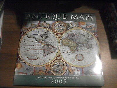 Antique Maps Calendario 2005 Sigillato
