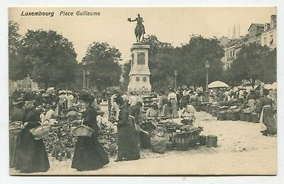 Luxembourg. Place Guillaume. 1909