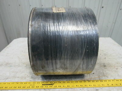 "BDI BD764 2 Ply .074"" Smooth Top Black Nylon Backed Conveyor Belt 11-7/8"" X 200'"