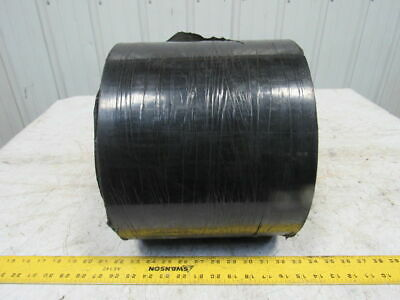 "BDI BD764 2 Ply .074"" Smooth Top Black Nylon Backed Conveyor Belt 9-7/8"" X 100'"