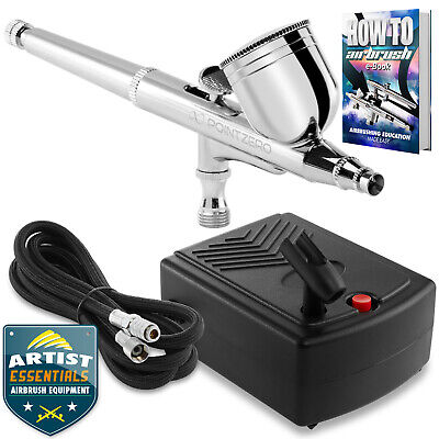 Dual Action Airbrush Kit with Mini Compressor