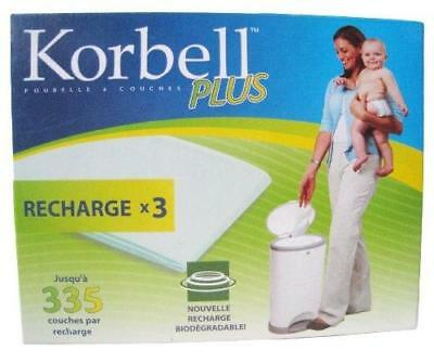 Korbell - Kr280Dr3B - Poubelles À Couches - Korbell Rec