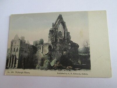 Postcard of Dryburgh Abbey No 556 (Scottish Borders) unposted