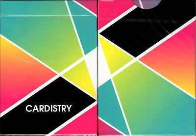 Cardistry Color Playing Cards Poker Size Deck USPCC BOCOPO Custom Limited Sealed