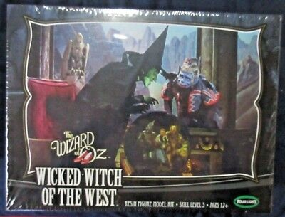 "WIZARD OF OZ ""WICKED WITCH OF THE WEST"" Resin Figure Model Kit Ltd Edition 1:8"