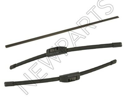 For Toyota Venza Front Left Right /& Rear Insert Windshield Wiper Blade Genuine