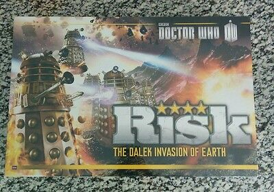 NEW SEALED Risk Dr. Who - The Dalek Invasion of Earth Board Game