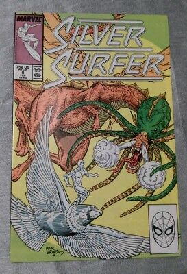 Silver Surfer #8 Marvel 1988 FN P&P Discounts