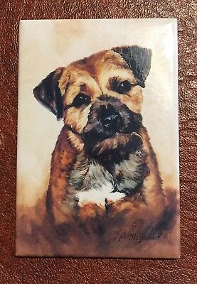 Best Friends Ruth Maystead Magnet NEW BORDER TERRIER