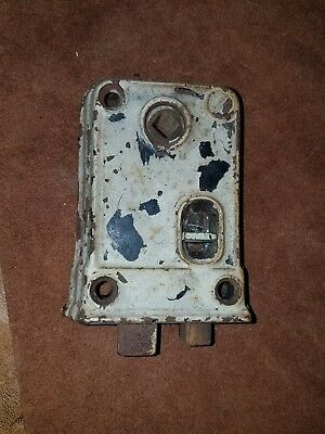 Working Old Vintage Antique Farm House Door Latch Lock Hardware Metal Cast Iron
