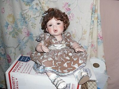 """2005 The Hershey's Company Marie Osmond """"Kisses"""" Doll Large"""