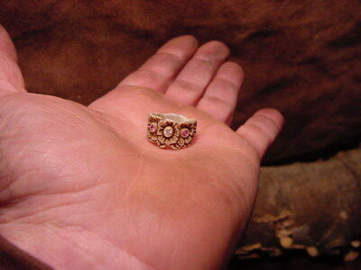 FLOWERS mothers RING carved elk antler RINGS mother day elk antlers botony