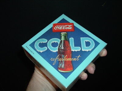 Coca Cola Company vintage Box Old Coke Advertising Sign PUZZLE- c.1983 OLD!