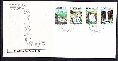 Lesotho 1978 Waterfalls   First Day Cover