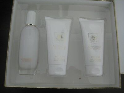 Clinique AROMATICS ELIXIR in White 3PC EDP 50ml SP Body Lotion Wash 75ml B.N.I.B