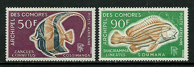 Comoro Is. #C23-4 Mint Never Hinged Set - Fish