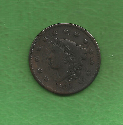 1836 Matron Head Modified, Large Cent, 2,111,000 Minted - 182 Years Old!!!