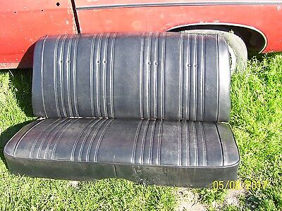1968 impala convertible back seat chevy chevrolet 68 ss 327 396 427