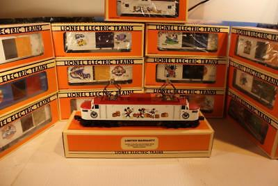 Lionel Disney Set - 18311 Electric With 13 Cars - Complete  -0/027 Scale- Mint