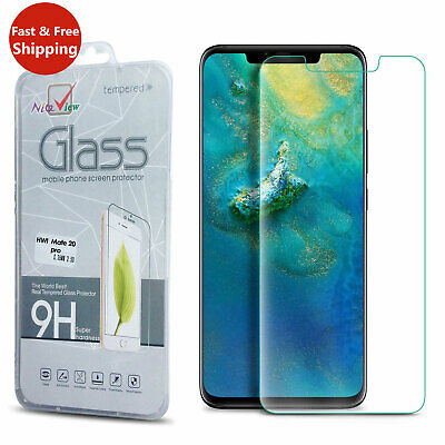 For Huawei P20 Pro Lite Mate 20 Tempered Glass Film Screen Protector Protection