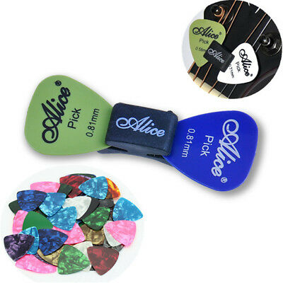 10pcs Multicolor Celluloid Acoustic Electric Guitar Picks Plectrums Thin Random