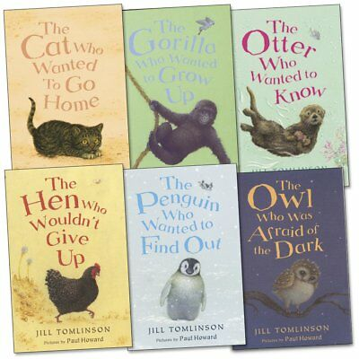 Jill Tomlinson's Favourite Animal Stories 6 Collection Pack Set Paperback NEW