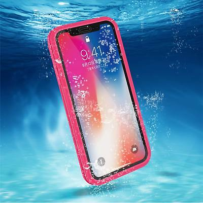Waterproof Shockproof Dirtproof Hybrid TPU Case Cover For iPhone XS X 8 7 Plus