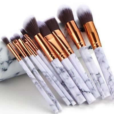 Marble Texture Makeup Brush Foundation Concealer Powder Eyeshadow Eyebrow Brush