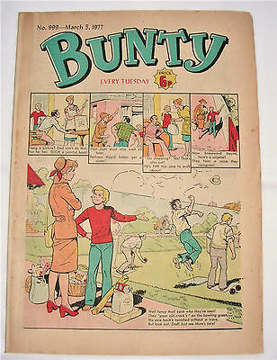 Vintage Bunty Comic No.999 March 5th 1977 – 40 years old! Top Birthday Gift!