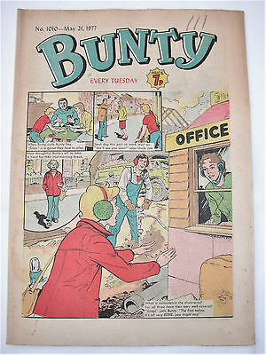 Vintage Bunty Comic No.1010 May 21st, 1977 – 40 years old! Top Birthday Gift!