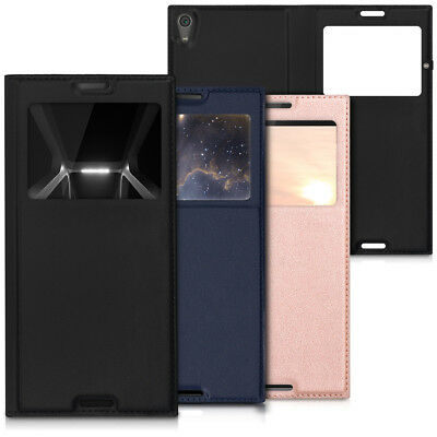 Kwmobile custodia flip per sony xperia xa1 ultra - Cover con finestra ...