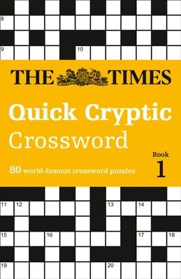 The Times Quick Cryptic Crossword book 1 (Times Mind Games) (Pape...