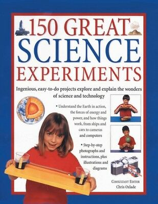 150 GREAT SCIENCE EXPERIMENTS, Oxlade, Chris, 9781782142157