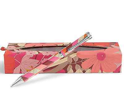 NWT Vera Bradley Ball Point Pen in Bohemian Blooms with Box Gift 11002 675 EZ